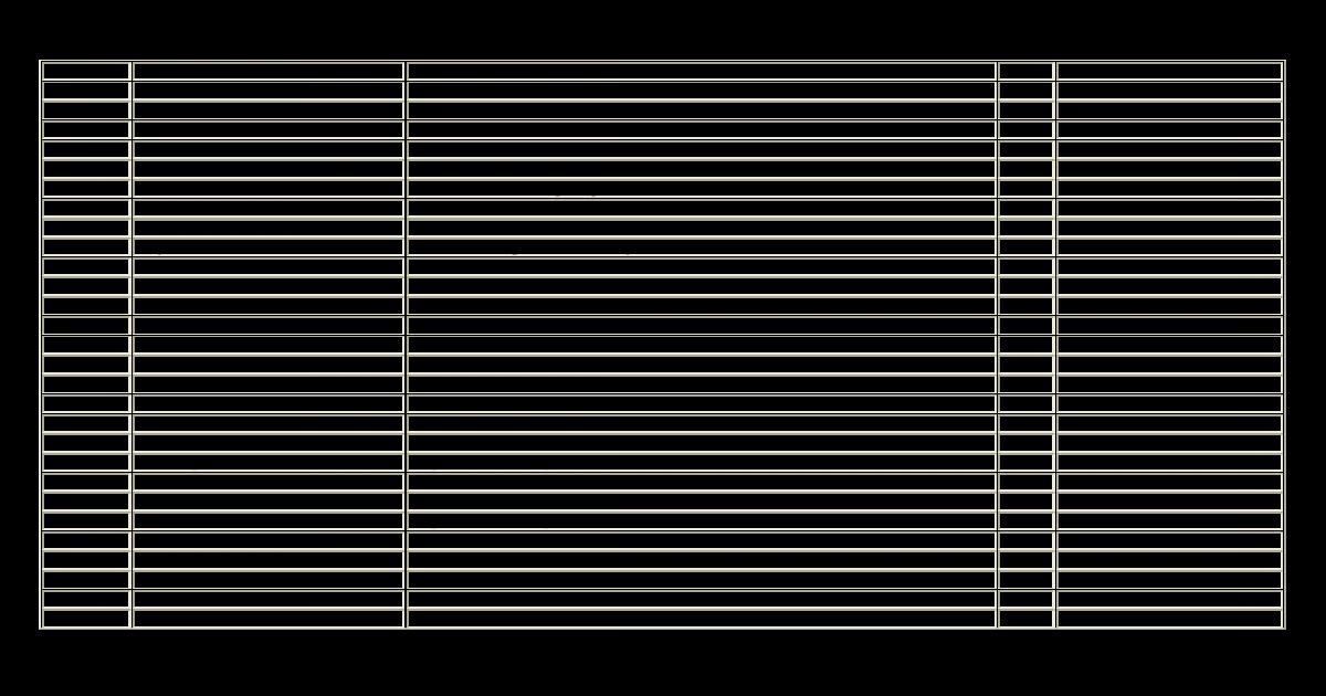 Numéro Auteurs Titre Année Editeur .Numéro Auteurs Titre